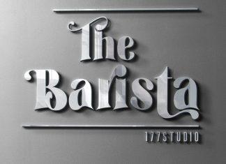 The Barista - Serif Font
