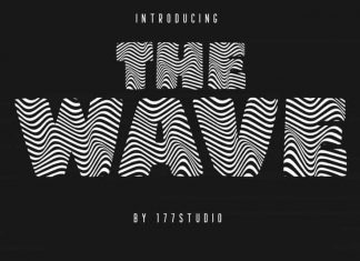 The Wave - Display Font