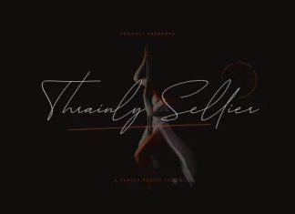 Thrainly Sellier Handwritten Font