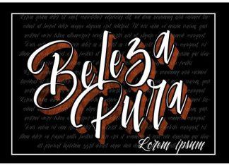 Vtks Beleza Pura Script Font