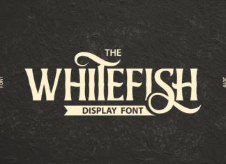 Whitefish Display Font