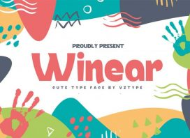 Winear Display Font