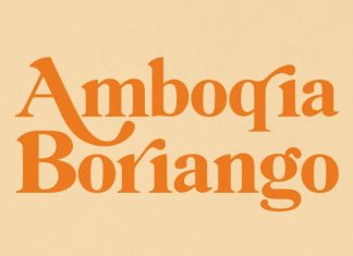 Amboqia Boriango Serif Font