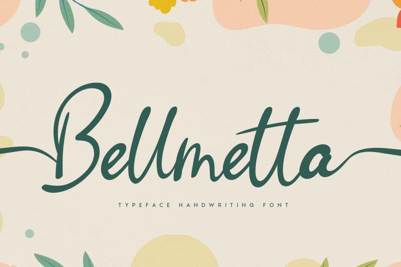 Bellmetta Handwritten Font