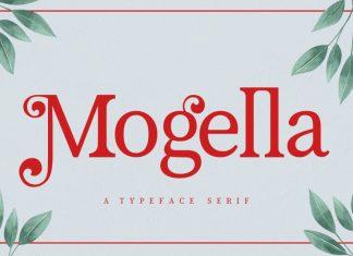Mogella Serif Font