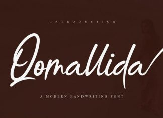 Qomallida Handwritten Font