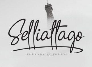 Selliattago Handwritten Font