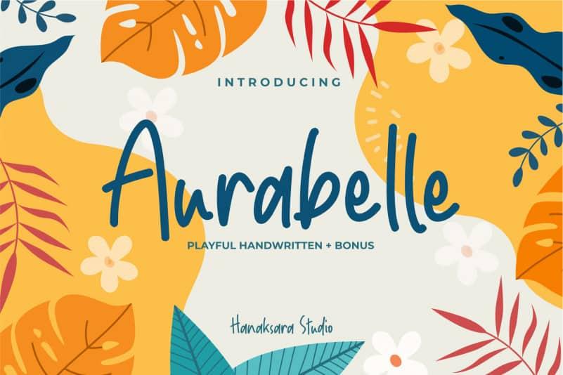 Aurabelle Handwritten Font