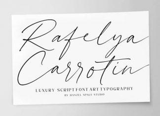 Rafelya Carrotin Handwritten Font