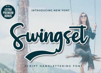 Swingset Script Font