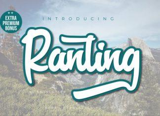 Ranting Script Font