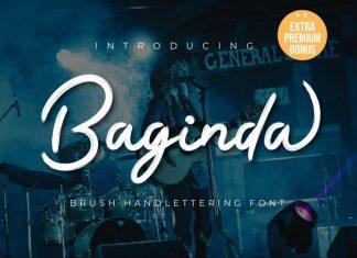 Baginda Script Font