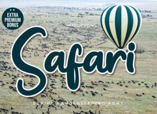 Safari Script Font