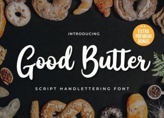 Good Butter Script Font