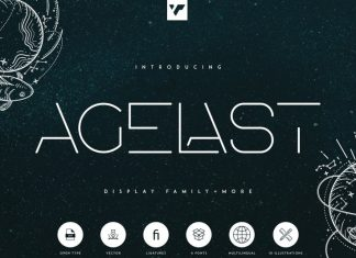 Agelast Display Font Family
