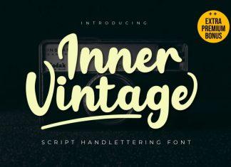 Inner Vintage Handwritten Font