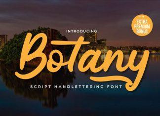 Botany Script Font