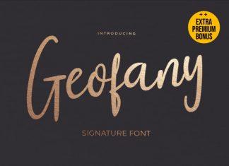 Geofany Script Font