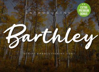 Barthley Script Font