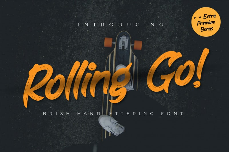 Rolling go Script Font