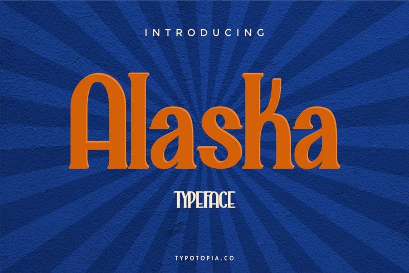 Alaska Serif Font