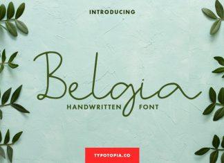 Belgia Handwritten Font