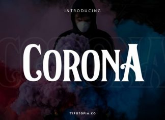 Corona Serif Font