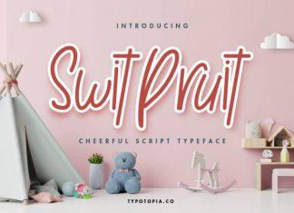 Swit Pruit Handwritten Font