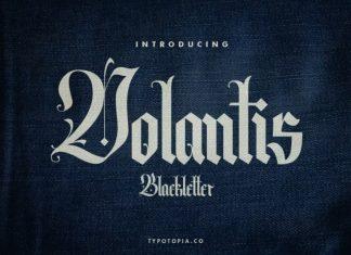 Volantis Blackletter Font