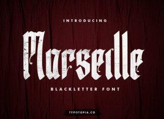 Marseille Blackletter Font