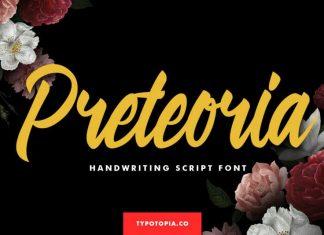 Preteoria Script Font