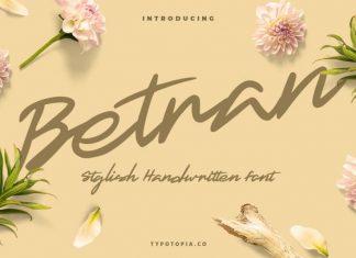 Betran Script Font