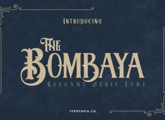 Bombaya Display Font