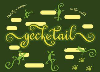 Geckotail Script Font