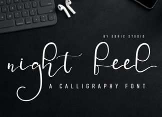 Night Feel Handwriting Font