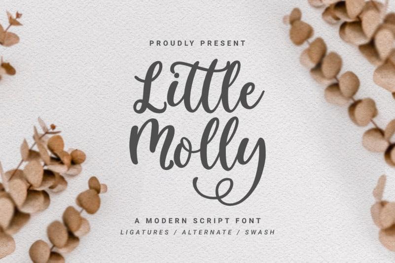 Little Molly Script Font