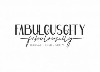 Fabulouscity Font Duo