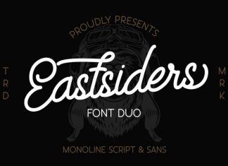 Eastsiders Monoline Font Duo