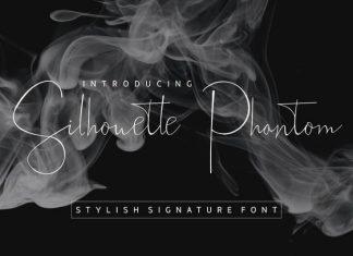 Silhouette Phantom Script Font