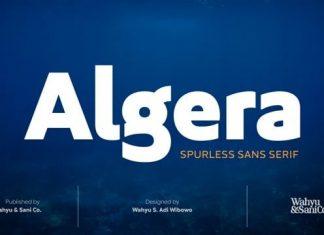 Algera Sans Serif Font