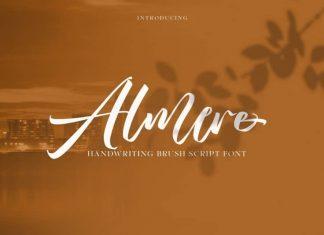 Almere Script Font