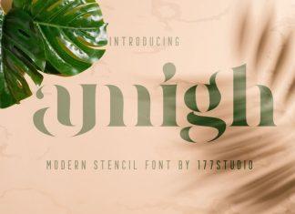 Amigh - Modern Serif Font