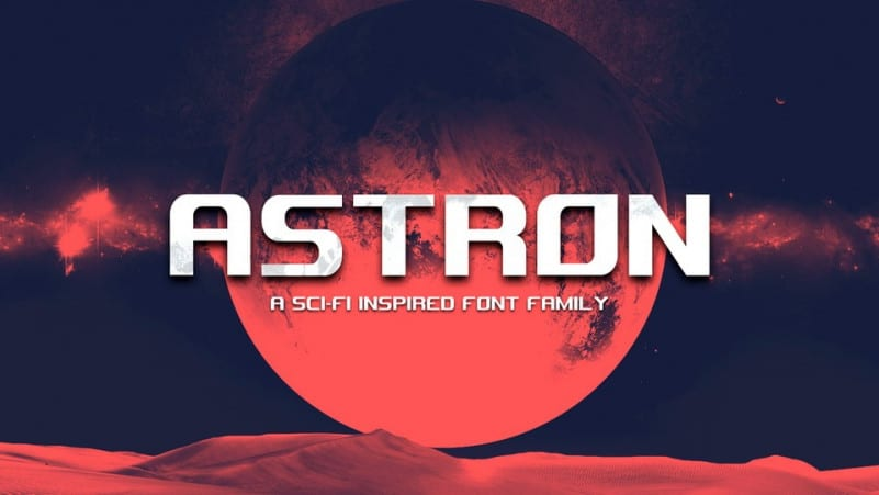 Astron Display Font
