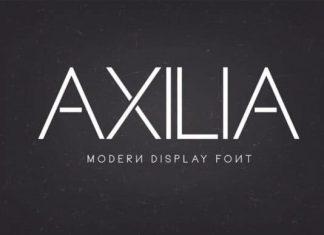 Axilia Sans Serif Font