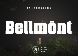 Bellmönt Display Font