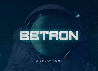 Betron Display Font