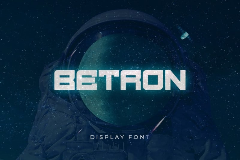 Betron Display Font