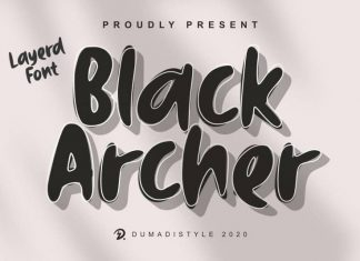 Black Archer Display Font