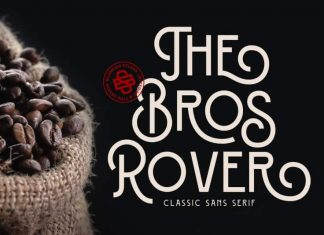 Bros Rover Sans Serif Font