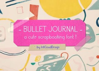 Bullet Journal Sans Serif Font